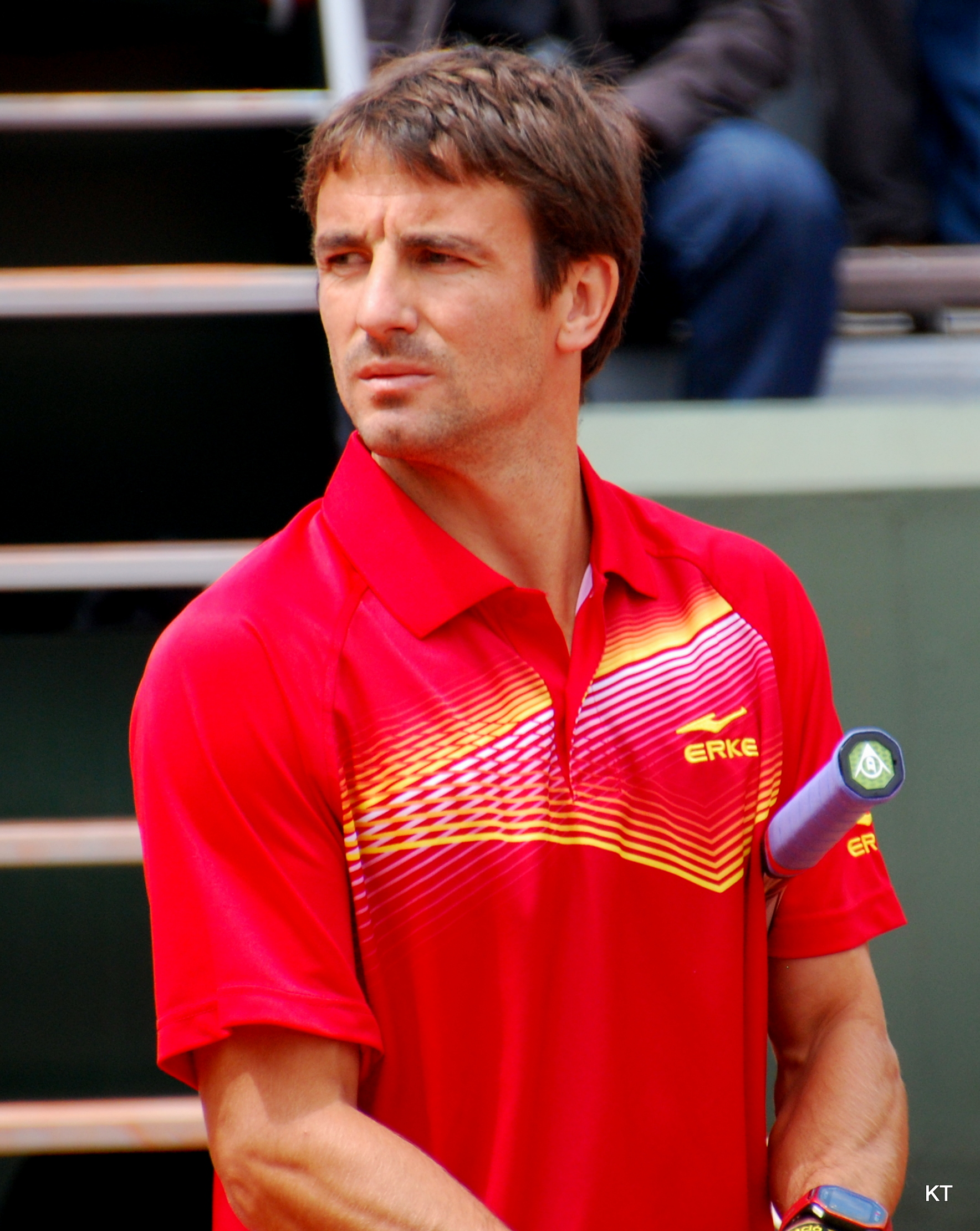 The 36-year old son of father (?) and mother(?) Tommy Robredo in 2018 photo. Tommy Robredo earned a  million dollar salary - leaving the net worth at 15 million in 2018