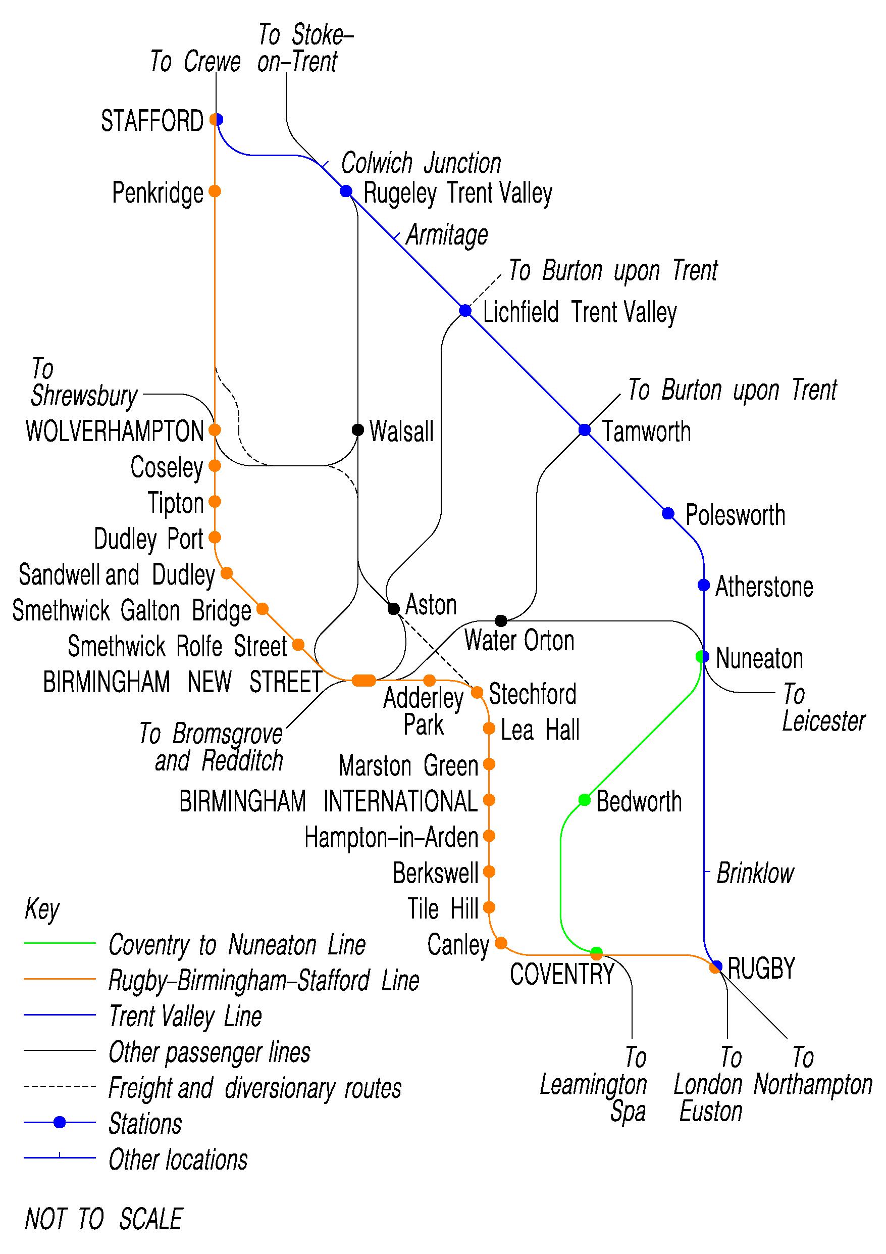 Train Times Leamington Spa To Birmingham International