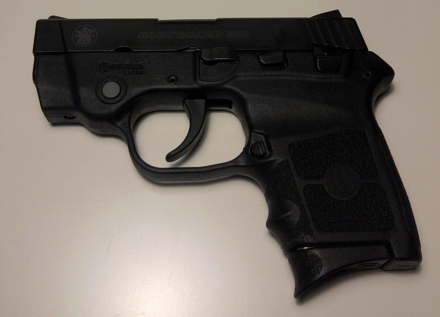 Smith & Wesson Bodyguard 380 - Wikipedia