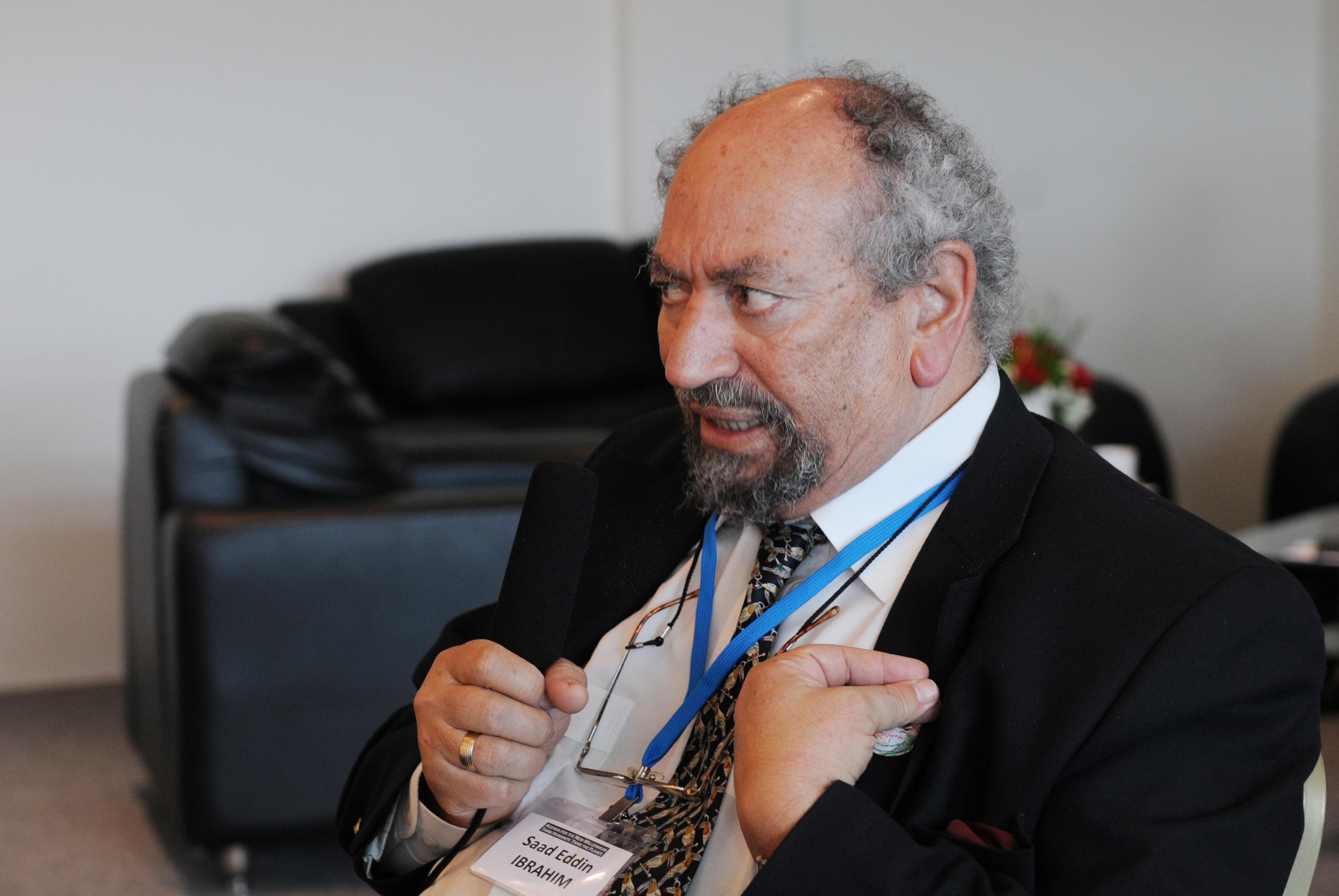 Saad Eddin Ibrahim, January 2009