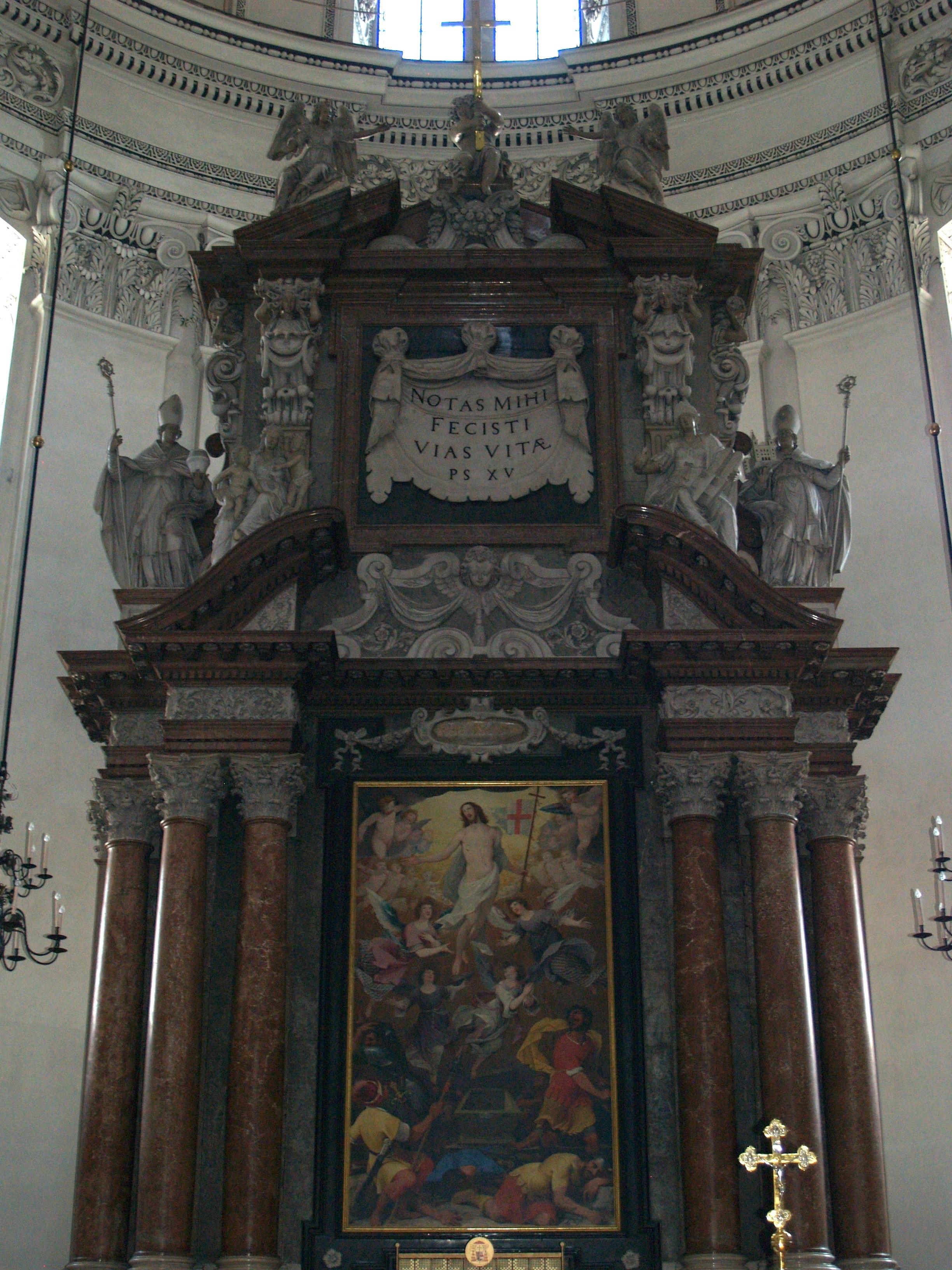 Foto del altar del holocausto 78
