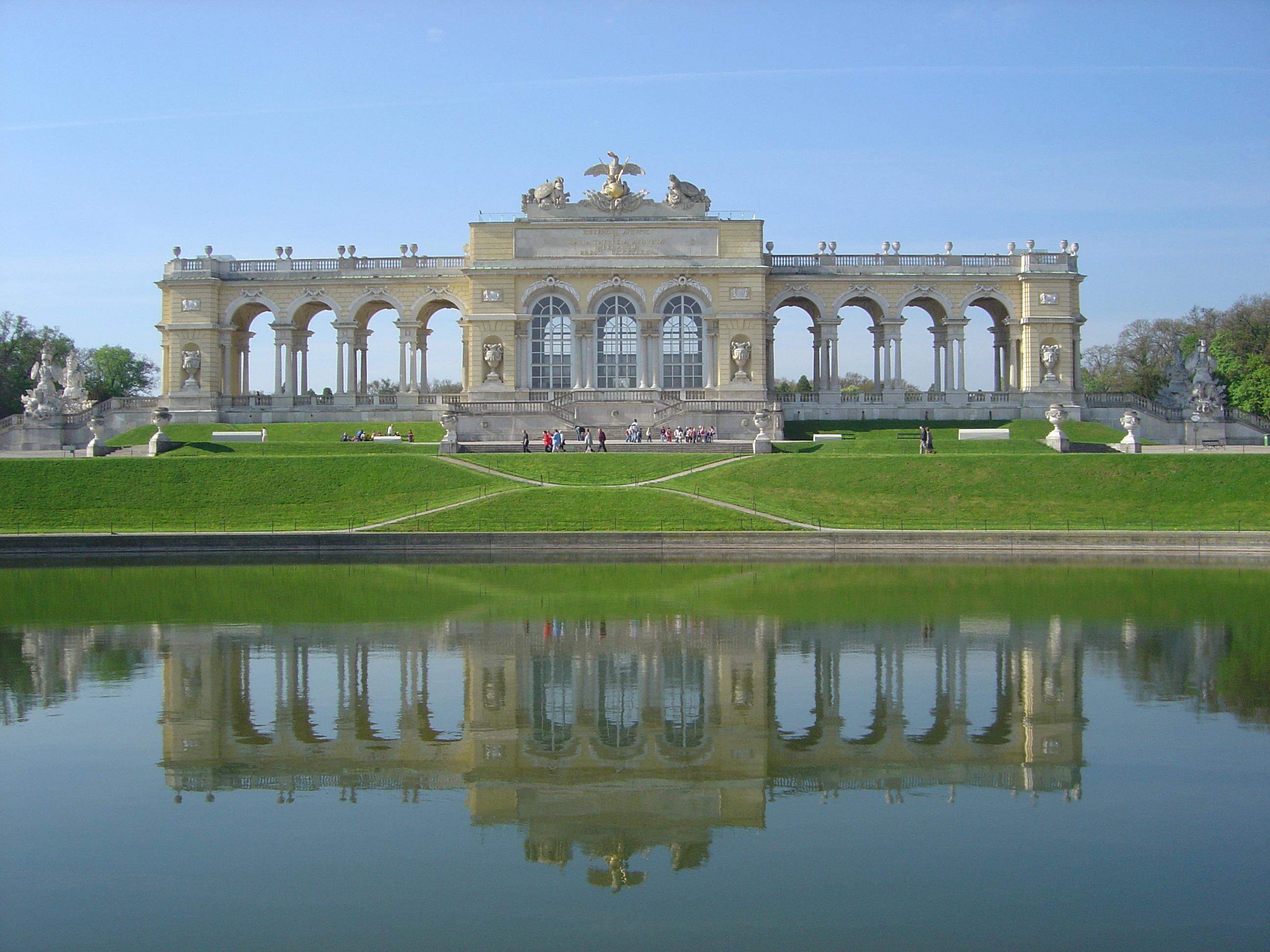 Image result for Gloriette Schönbrunn in Vienna