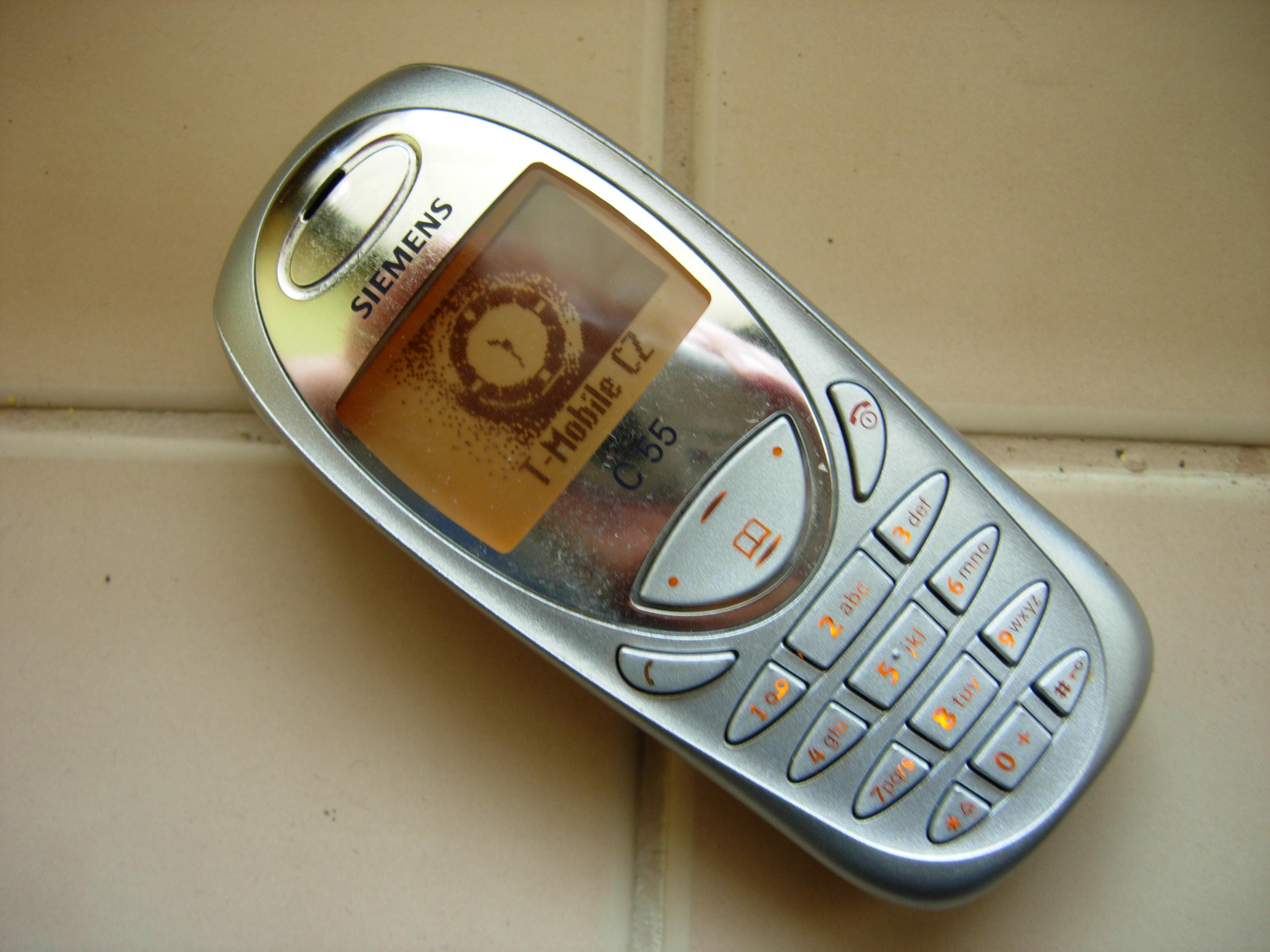 Resultado de imagen para celulares Siemens c55