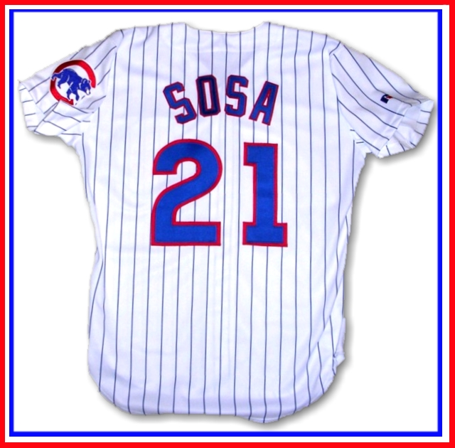 new styles 90aba c491a chicago cubs sosa jersey