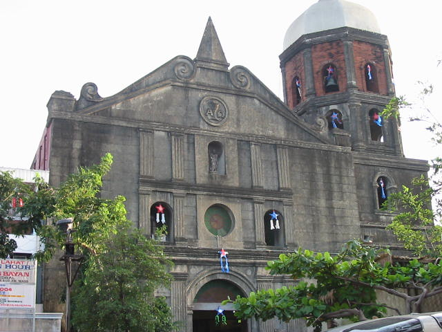 image regarding St Andrew Novena Printable named Parañaque Cathedral - Wikipedia