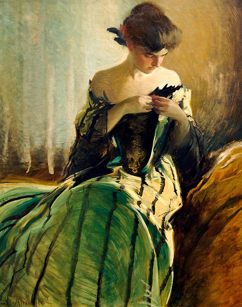 Study in Black and Green.JPG