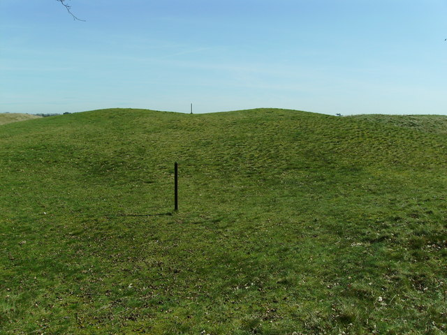 Sutton Hoo - Ship Burial Mound - geograph.org.uk - 1210413