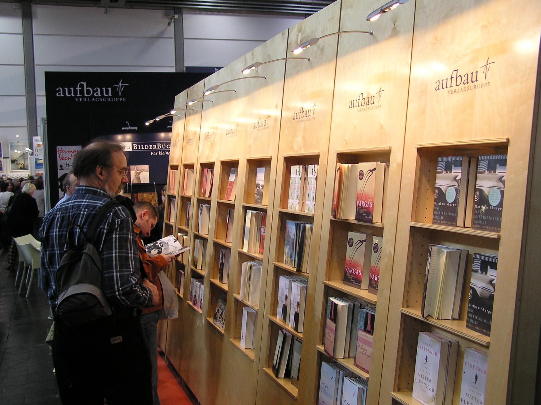Im Oktober findet wieder eine Buchmesse statt