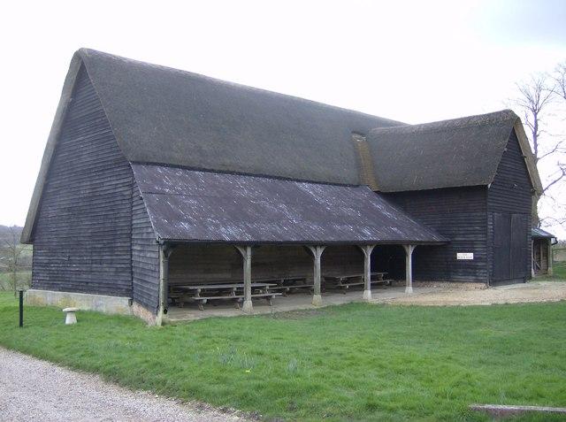 Farm Building Black Paint Chester County
