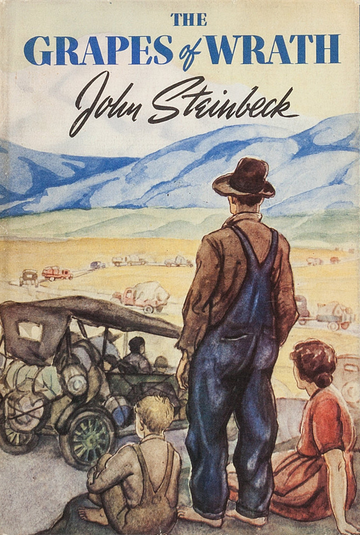 File:The Grapes of Wrath (1939 1st ed cover).jpg - Wikipedia
