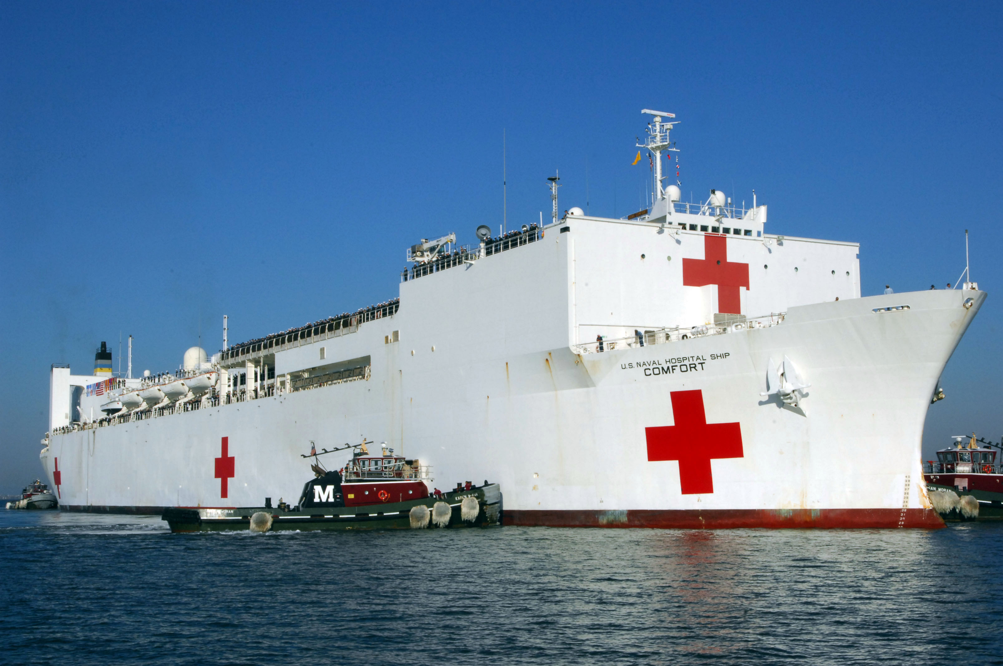 Image result for Hospital ship Comfort