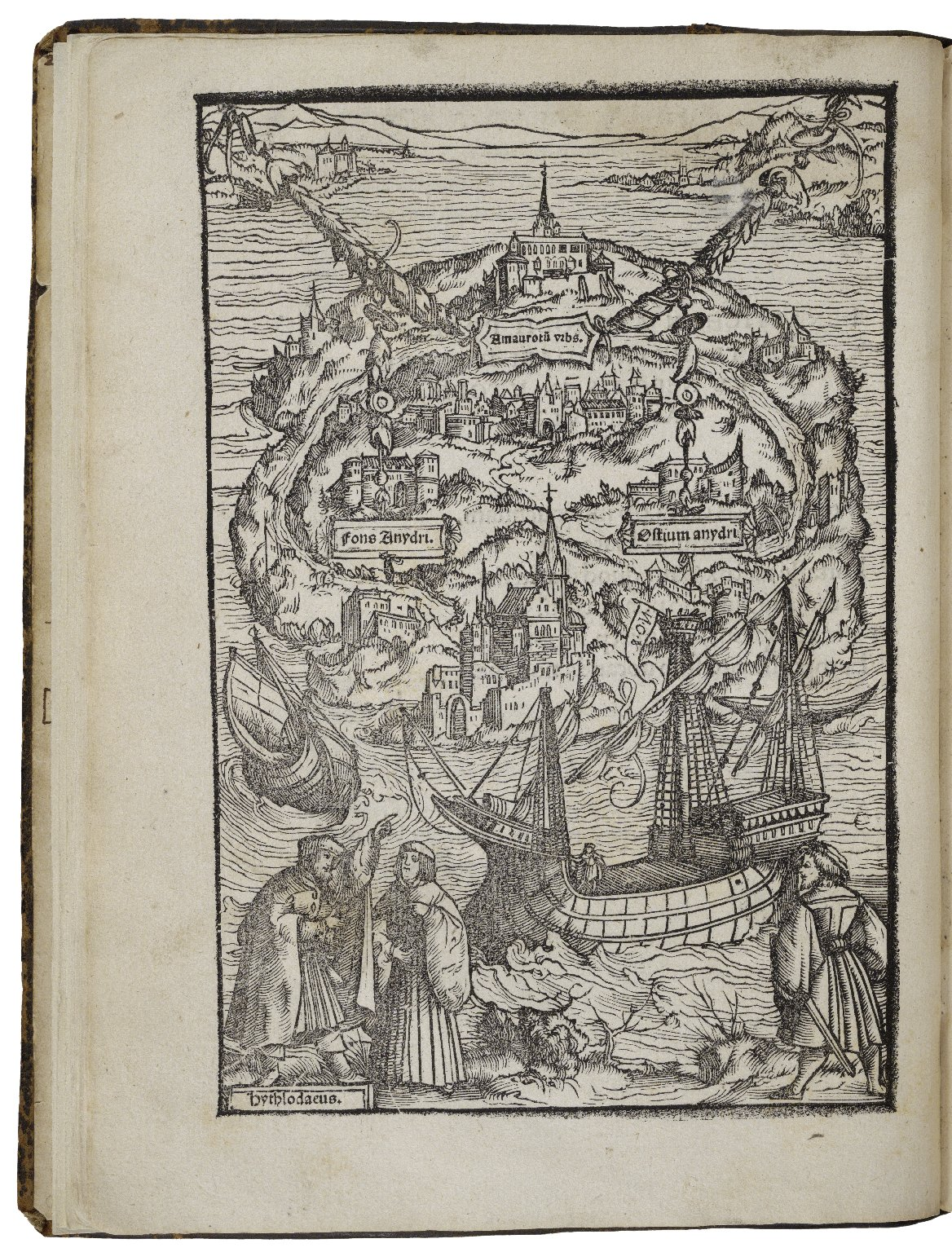 thomas more utopia summary Sir thomas more (1477 - 1535) was the first person to write of a 'utopia', a word  used to describe a perfect imaginary world more's book imagines a complex,.