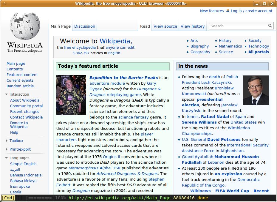 Uzbl - Wikipedia