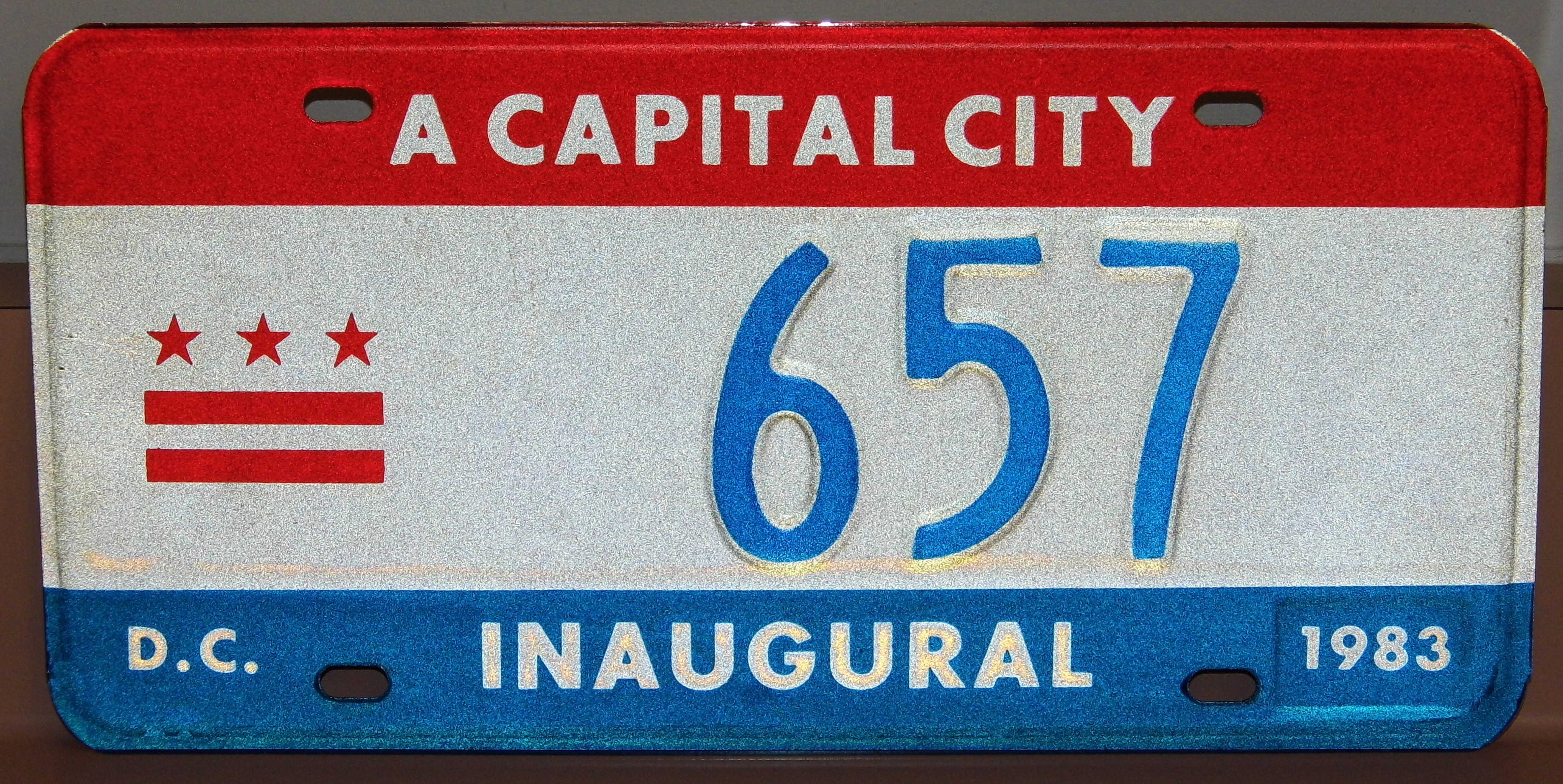 Vintage_1983_Washington_D.C._Mayoral_Inaugural_License_Plate_-657%2C_Only_1K_Made_To_Commorate_The_Inauguration_Of_Mayor_Marion_Barry_%2817042813131%29.jpg