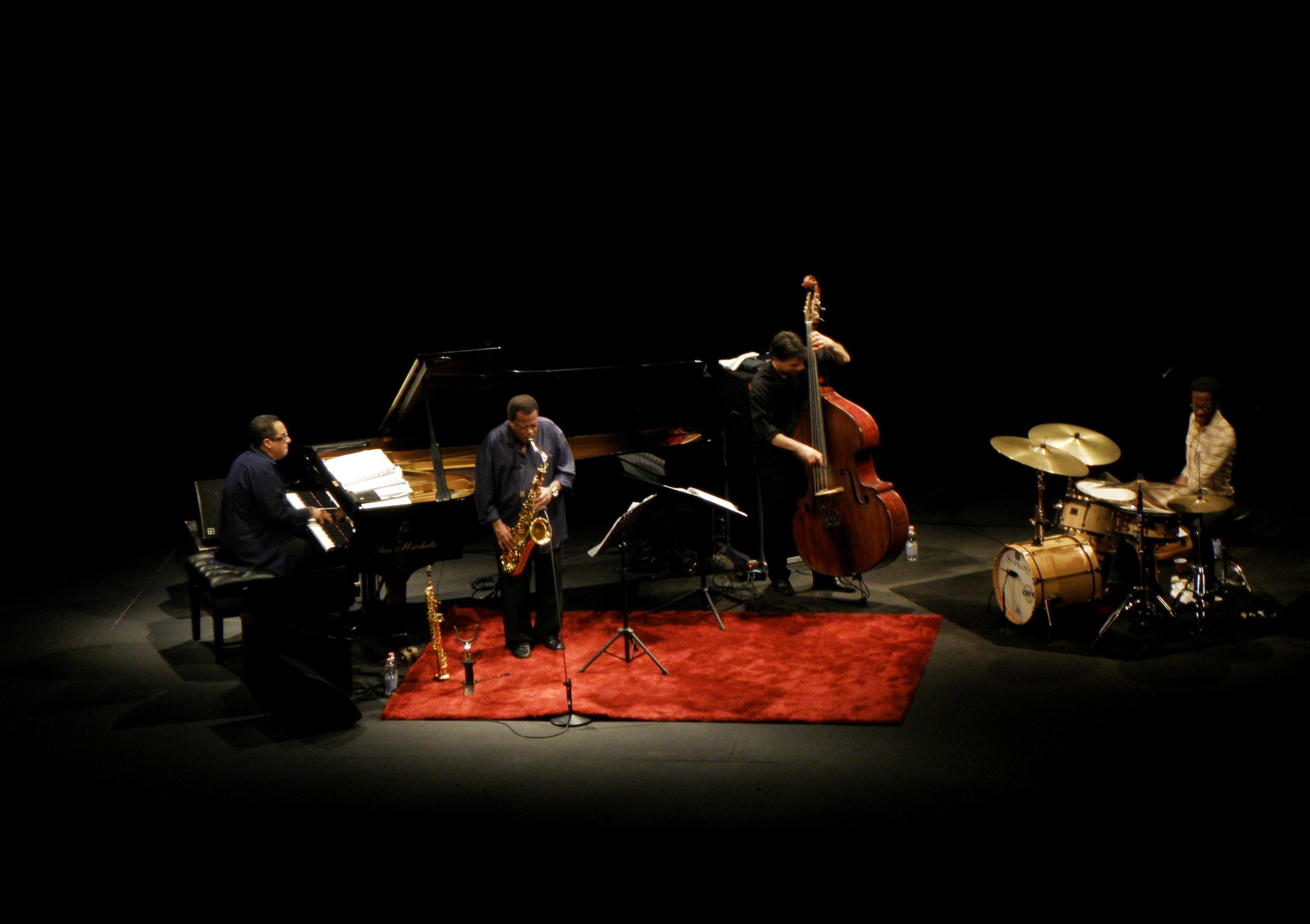 El Wayne Shorter Quartet, con Danilo Pérez, John Patitucci y Brian Blade, en 2010.