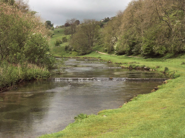 Weirs on the River Lathkill in Lathkill Dale - geograph.org.uk - 436162