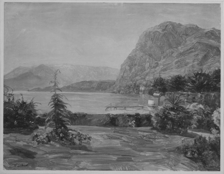 File:Wilhelm Trübner - Am Comer See - 9517 - Bavarian State Painting Collections.jpg