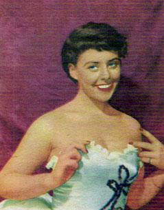Yvonne Lombarder, cirka 1955.