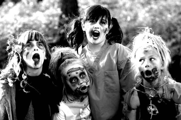 Image result for child zombie