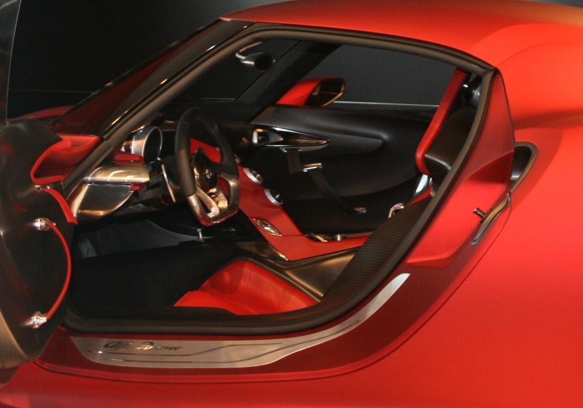 Alfa Romeo 4c 2013 Interni Supercar Alfa Romeo 4c
