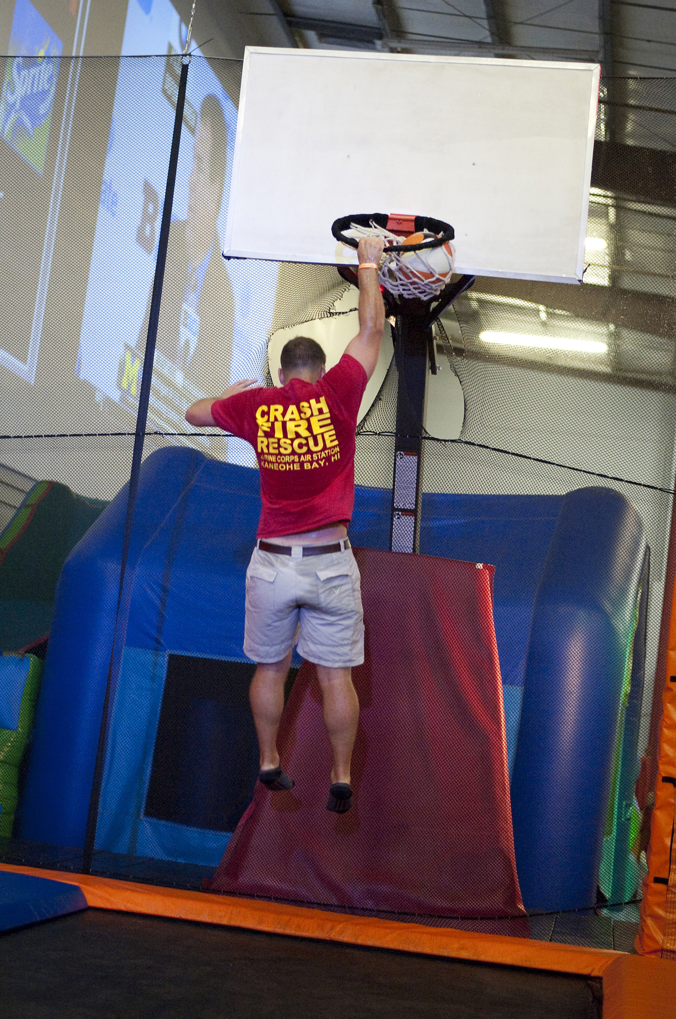 Slam dunk activity at BOUNCE Dubai