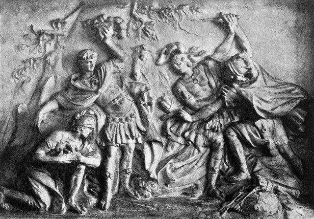 М.И.Козловский Изяслав на поле брани
