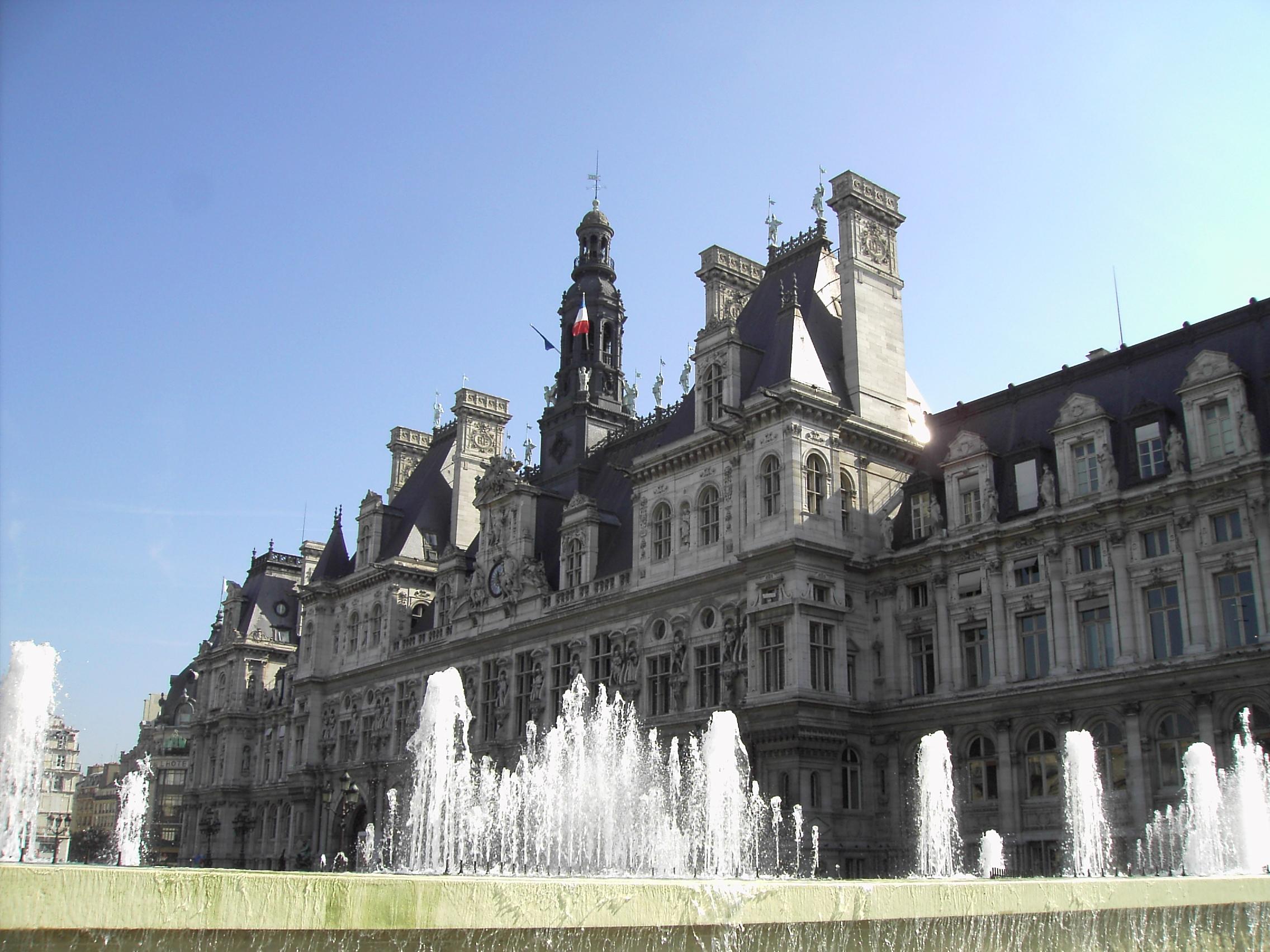 hotel ville paris: