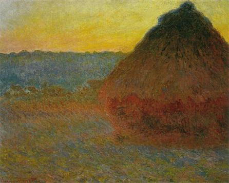 1290 Grainstack in the Sunlight, 1891, Oil on Canvas, Private Collection.jpg