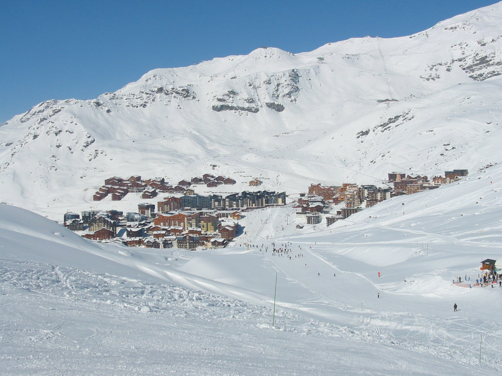 Val Thorens im Winter