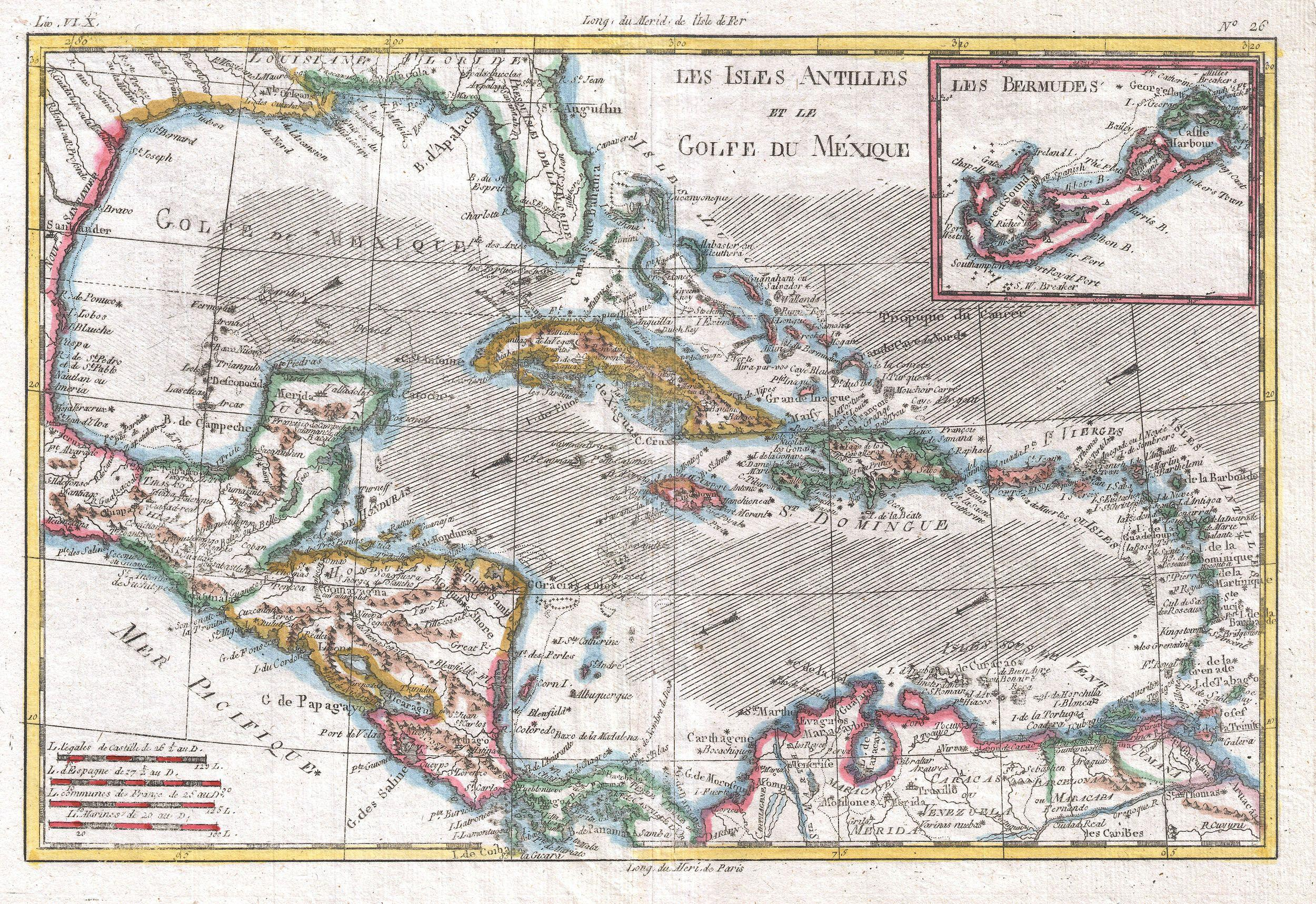 File1780 raynal and bonne map of the west indies caribbean and file1780 raynal and bonne map of the west indies caribbean and gulf sciox Image collections