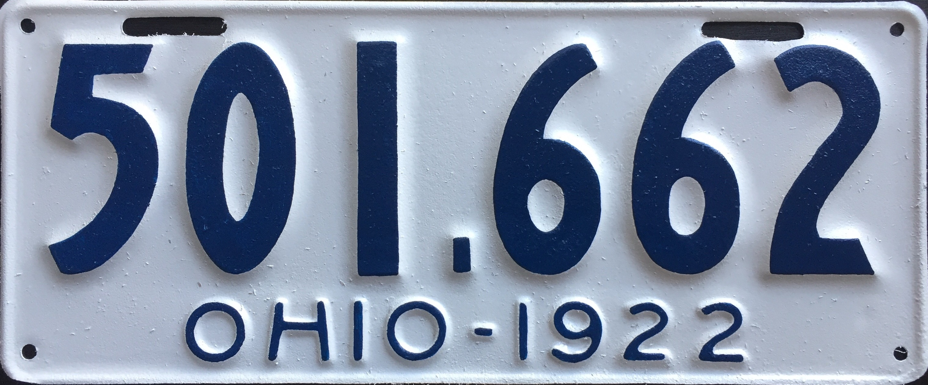 File:1922 Ohio license plate.jpg - Wikimedia Commons