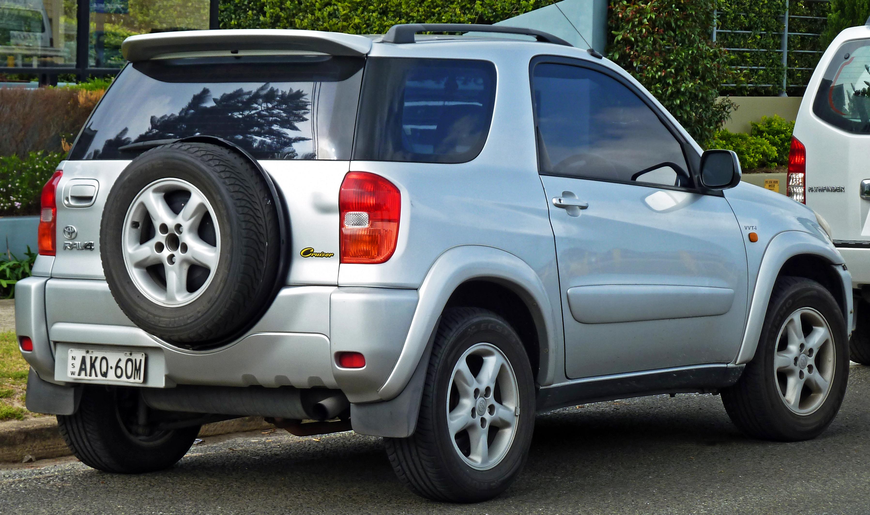Toyota RAV4 (2000-2003)