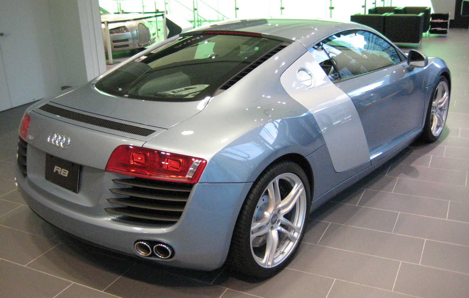 File2007 Audi R8 02JPG  Wikimedia Commons