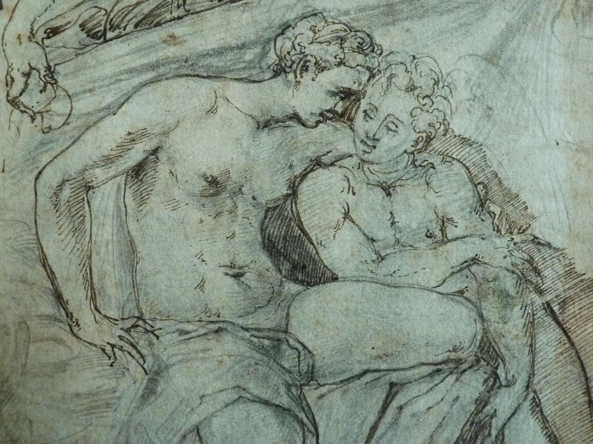 File Allori Alessandro Le Temps Venus Et L Amour Drawing
