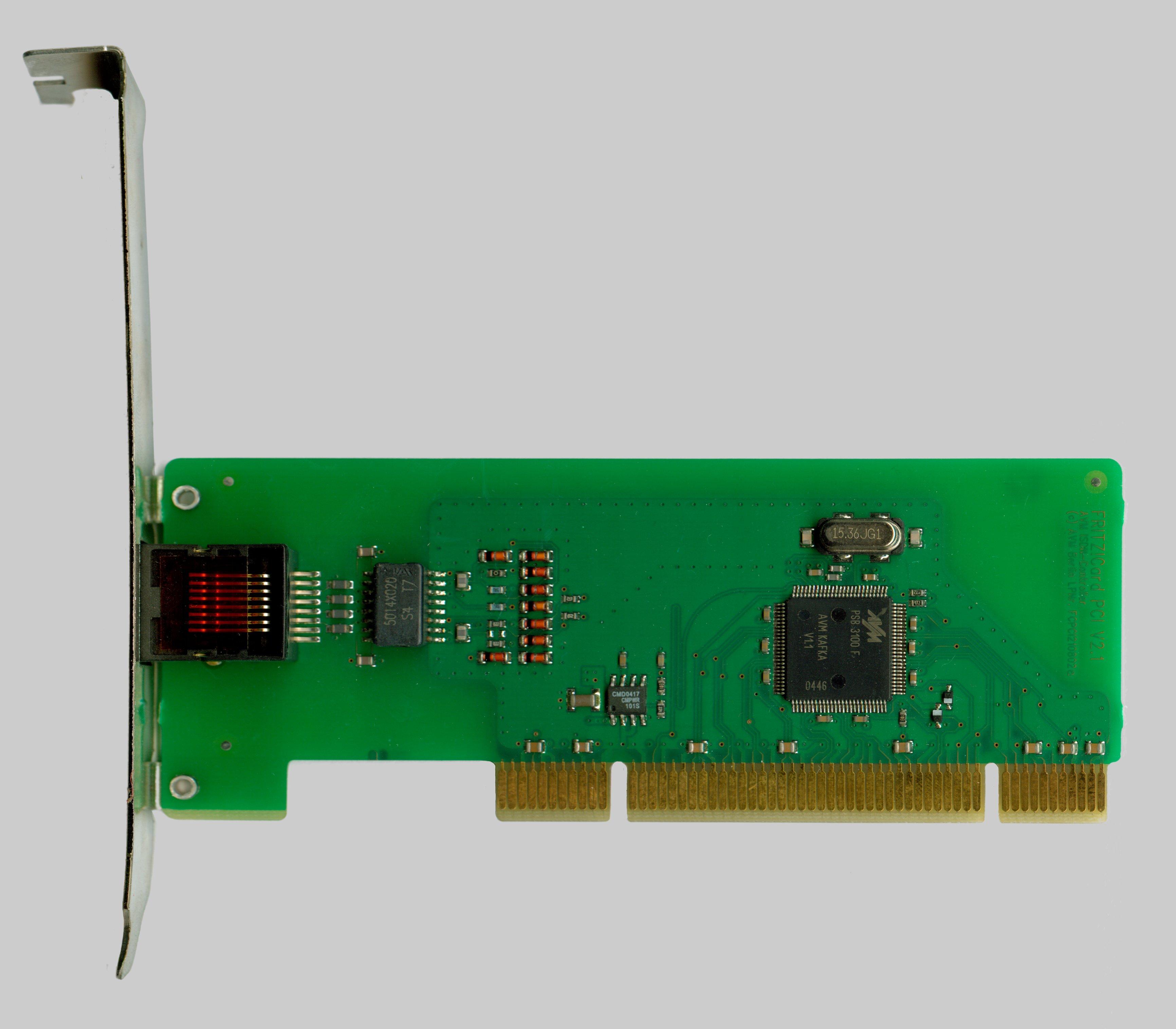 AVM ISDN FRITZ!Card PCI Driver Windows 7