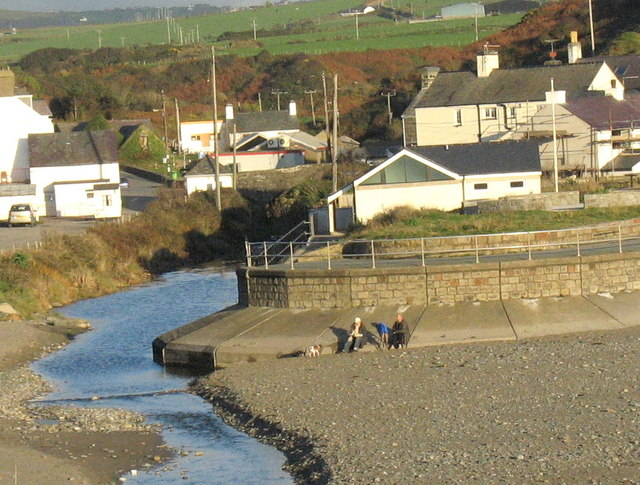 A pleasant way of spending a November afternoon at Aberdaron - geograph.org.uk - 603499