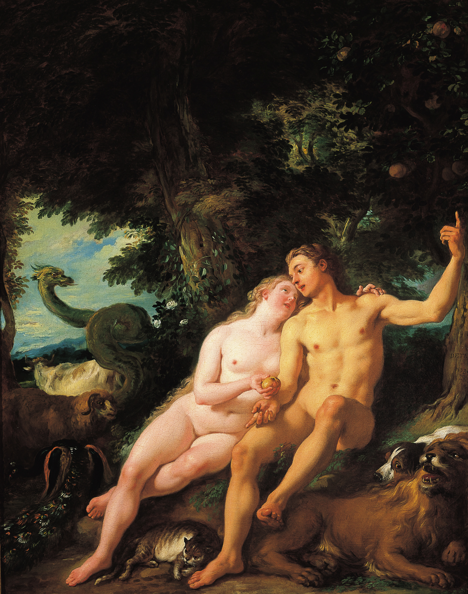 Adam and eve the first fuck - 1 part 2