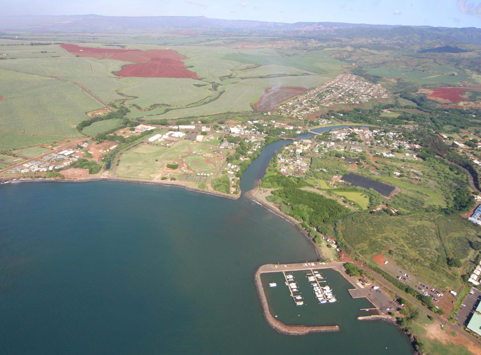 File Aerial View Hanapepe Kauai Jpg Wikimedia Commons