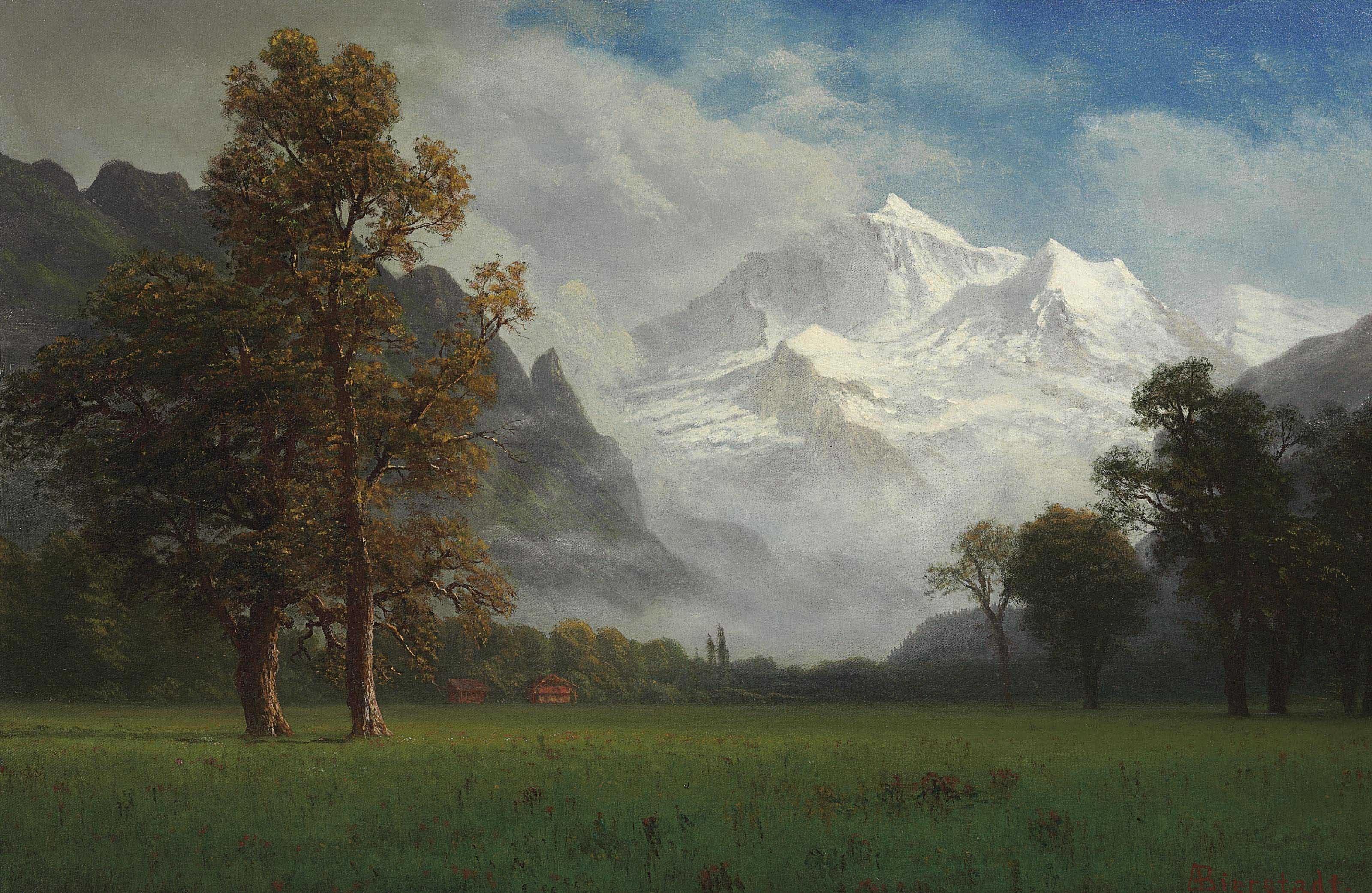 File:Albert Bierstadt - Jungfrau.jpg - Wikimedia Commons