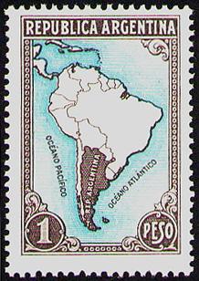 Depiction of Estampillas de Argentina