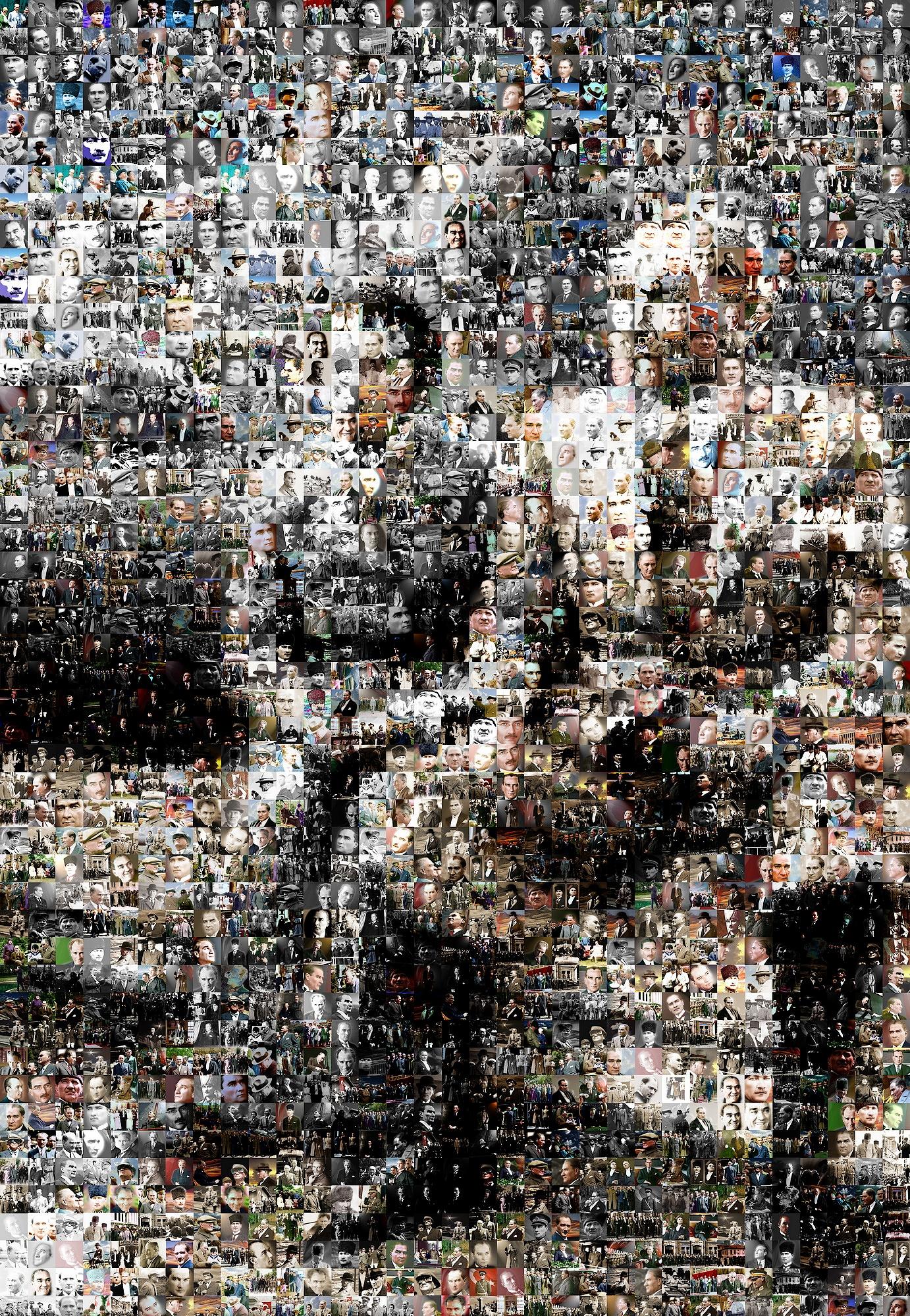 Kolaj resimden resim yapma sanat for Cochrane mural mosaic