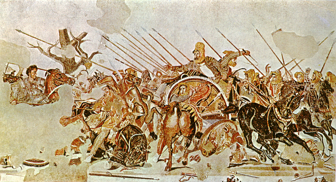 File battle of wikipedia for Battle of issus painting