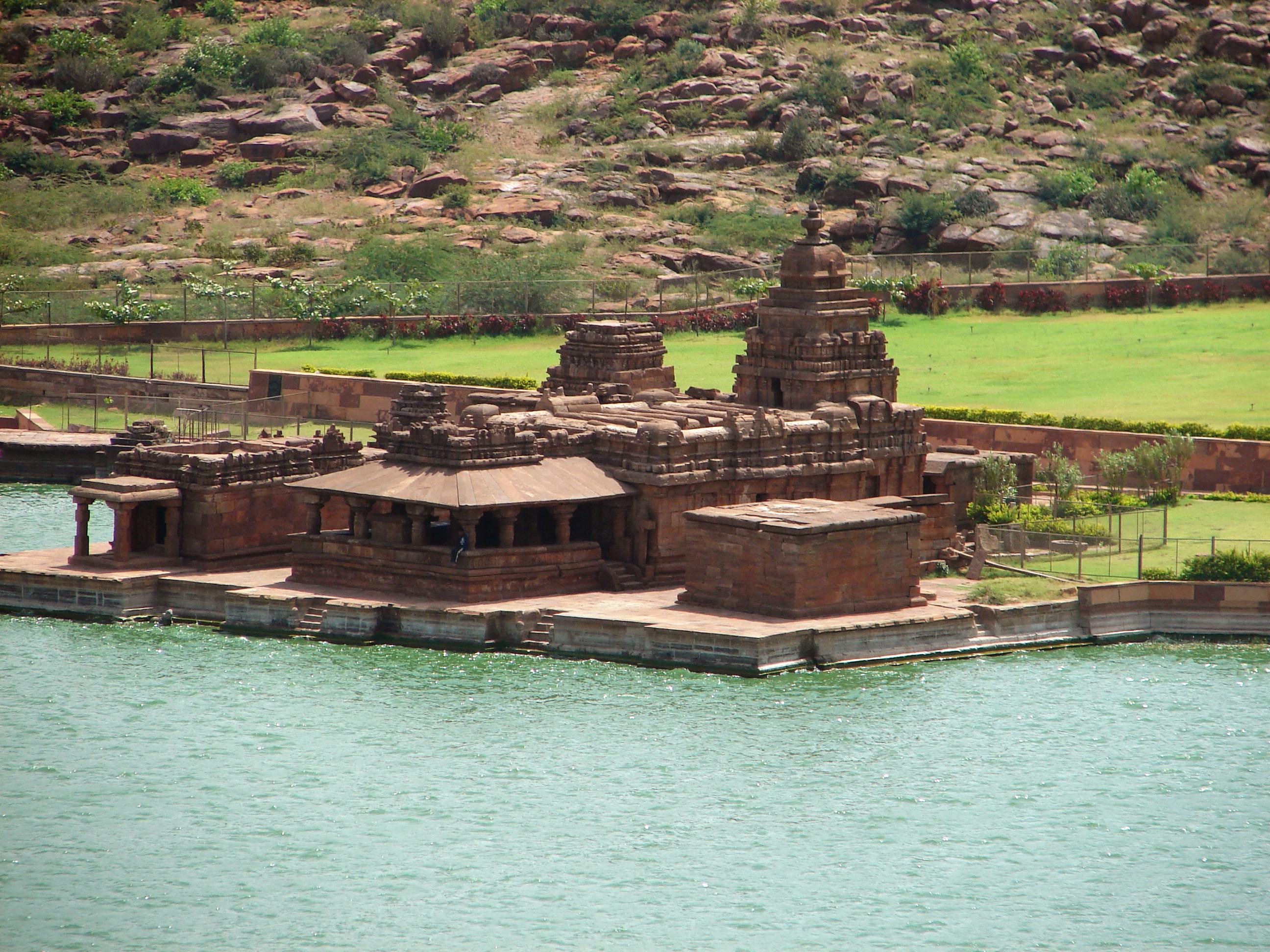 Bhutanatha group of temples facing the Agasythya Tank