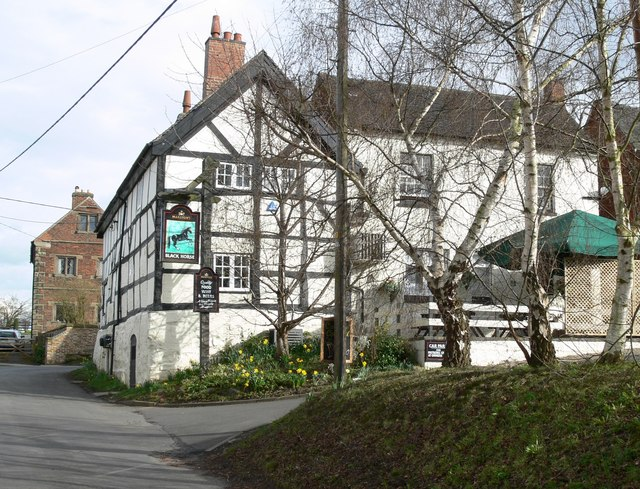 Black Horse in Appleby Magna - geograph.org.uk - 745215