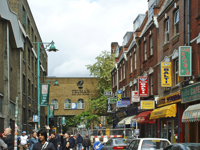 Brick Lane, Spitalfields, London - geograph.org.uk - 983451