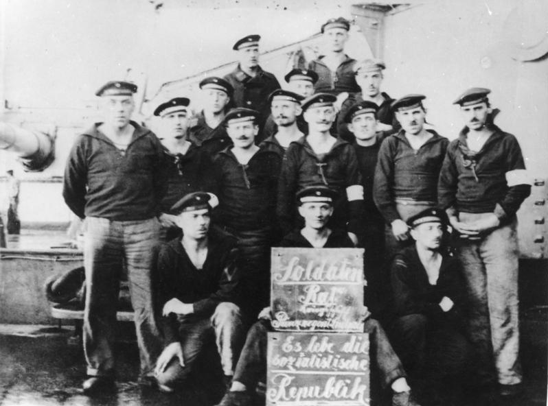 Bildergebnis für 100 Jahre Matrosenmeuterei in Wilhelmshaven
