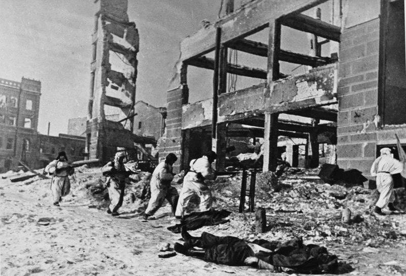 Bundesarchiv Bild 183-R76619, Russland, Kesselschlacht Stalingrad