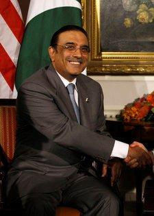 Depiction of Asif Ali Zardari
