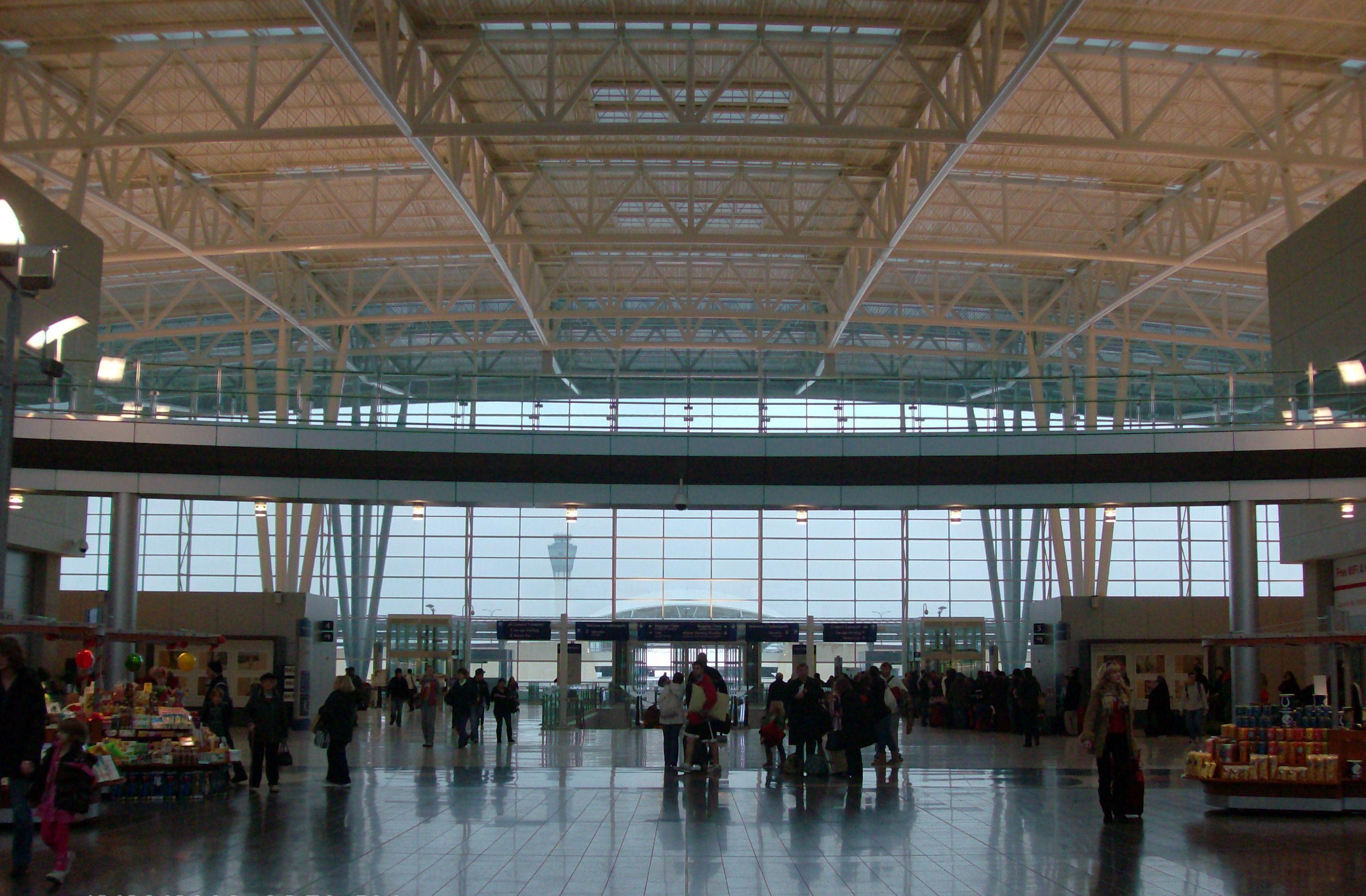 Indy機場一景