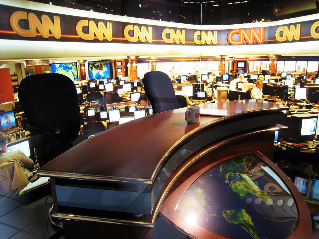 La newsroom de la chaîne.